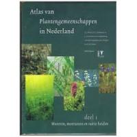 Atlas van de plantengemeenschappen in Nederland deel 1 Wateren, moerassen en natte heiden ( Weeda/Schaminee/van Duuren)