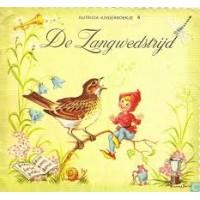 Nutricia kinderboekje oude serie:  De zangwedstrijd ( deeltje 4)