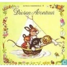 Nutricia kinderboekje oude serie:  Dieren Avontuur ( deeltje 8)