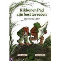 Blok-boekje door Arnold Lobel: Kikker en pad zijn best tevreden (glimmende voorkant)