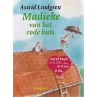 Lindgren, Astrid en Annet Schaap: Madieke van het rode huis (softcover)
