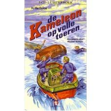 Luisterboek 3cd: De Kameleon op volle toeren van H. de Roos voorgelezen door Maarten Spanjer ( nieuw in folie)