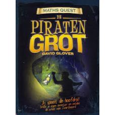 Maths Quest, de piratengrot, jij speelt de hoofdrol,  schep je eigen avontuur en ontdek de schat van Zwartbaard door Richard Glover