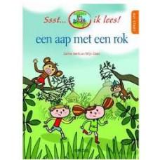 Ssst... ik lees! Een aap met een rok door Carine Aerts en Stijn Claes ( avi start)