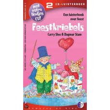 Luisterboek 2cd: Feestkriebels, een luisterboek over feest van Carry Slee voorgelezen door Wieteke van Dort