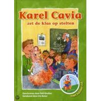 Bouber, Rob met ill. van Iris Boter: Karel Cavia zet de klas opstelten ( met cd)