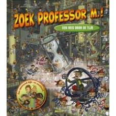 Tomas, Soren en Karsten Mungo Madsen: Zoek Professor M.! een reis door de tijd (zoekboek)