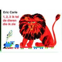 Carle, Eric: 1,2,3 Ik tel de dieren die ik zie (kartonboekje)