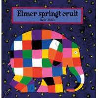 McKee, David: Elmer springt eruit ( trek-aan-de-klepjes en kijk-achter-de-flapjesboek)