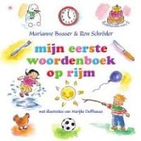 Busser, Marianne en Ron Schroder met ill. van Marijke Duffhauss: Mijn eerste woordenboek op rijm