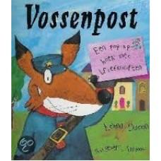 Damon, Emma: Vossenpost , een pop-up boek met briefkaarten (vooroordelen)