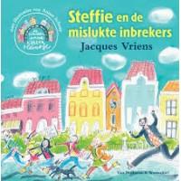 Vriens, Jacques met ill. van Annet Schaap: Steffie en de mislukte inbrekers ( de kinderen van het kattenpleintje)
