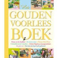 Gouden boekjes: Gouden voorleesboek (hoep, zie de chauffeur/de nieuwe pony/meneer mooi weer/christoffel en de columbus/doktere pijpekop/de poppendokter/de gele taxi/het huis dat japie heeft gebouwd)