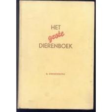 Swanenburg, B met 40 gekleurde platen van AJ van 't Hof: Het grote dierenboek
