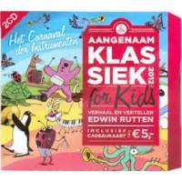 Aangenaam klassiek for kids 2012 (2 cd)  verhaal en verteller Edwin Rutten (zonder cadeaukaart)