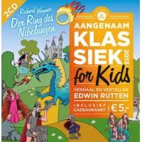 Aangenaam klassiek for kids 2013 (2 cd)  verhaal en verteller Edwin Rutten (zonder cadeaukaart)