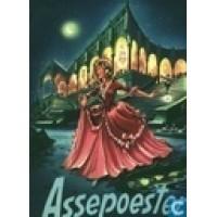 Douwe Egberts: Pop-up plaatjesalbum, Assepoester ( in originele envelop met alle plaatjes nog los)