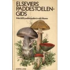 Elseviers paddestoelengids met 600 paddestoelen in vele kleuren door Morten Lange