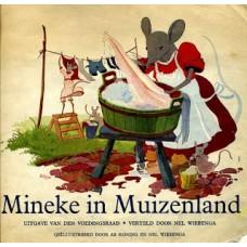 Mineke in Muizenland uitgave van den voedingsraad  ( reclame) 1943?