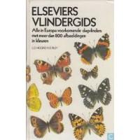 Higgins, LG en ND Riley: Elseviers vlindergids, alle in Europa voorkomende dagvlinders ( 800 afb. in kleuren)