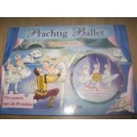 Puzzelboek Prachtig ballet 4 puzzels 48 stukjes met cd