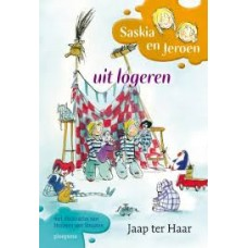 Haar, Jaap ter met ill. van Harmen van Straaten: Saskia en Jeroen uit logeren