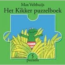 Velthuijs, Max: Het Kikker puzzelboek ( 5 puzzels van 12 stukjes)