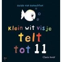 Genechten, Guido van: Klein wit visje telt tot 11 (karton met flappen)