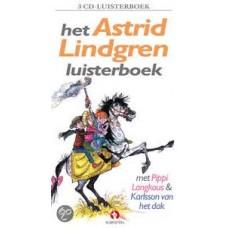 Luisterboek 3cd: Het Astrid Lindgren luisterboek (met Pippi Langkous/Karlsson van het dak)