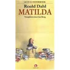 Luisterboek 4cd: Matilda door Roald Dahl (nieuw in folie)