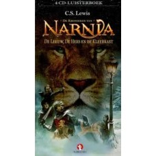 Luisterboek 4cd: De kronieken van Narnia, de leeuw, de heks en de kleerkast door CS Lewis