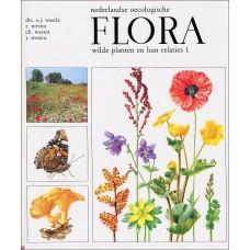Nederlandse oecologische Flora wilde planten en hun relaties 1 (met stofomslag)