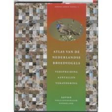 Atlas van de Nederlandse broedvogels, verspreiding aantallen en verandering
