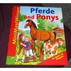 Mimimaxi's: Paarden en pony's (ringband met flapjes)