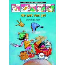 Strip voor beginnende lezers: De pet van Jet door Els Egeraat