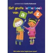 Ede, Bies van Paul van Loon en Mirjam Oldenhave: Het grote letterboek van A tot Z ( ill. Camila Fialkowski)