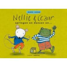 Godon, Ingrid: Nellie en Cezar springen en dansen en..... ( dik karton)
