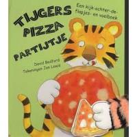 Bedford, David en Jan Lewis: Tijgers pizza partijtje ( kijk-achter-de-flapjes en voelboek)