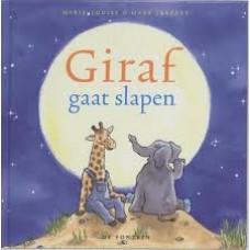 Sekreve, Marie-Louise en Mark: Giraf gaat slapen ( kleine uitgave)