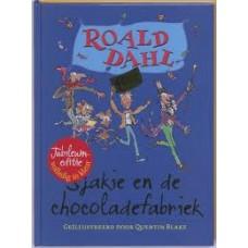 Dahl, Roald met ill. van Quentin Blake: Sjakie en de chocoladefabriek ( jubileum editie 40 jaar)