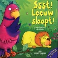 Claybourne, Anna en Lee Wildish: Ssst! Leeuw slaapt! met  brullende pop-upverrassing