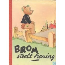 Broos, Piet: Brom steelt honing ( karton met rood rugje)