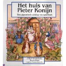 Potter, Beatrix:  Het huis van Pieter Konijn, een gigantisch uitklap- en speelboek