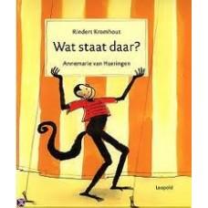 Kromhout, Rindert en Annemarie van Haeringen: Wat staat daar?