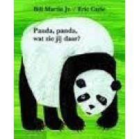 Carle, Eric en Bill Martin Jr.: Panda, Panda, wat zie jij daar?  (hardcover prentenboek)