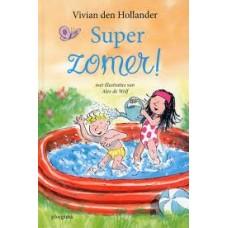 Hollander, Vivian den met ill. van Alex de Wolf: Super zomer! voorlezen, knutselen en zingen over de zomer