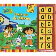 Michel, Albin: Dora en de dieren, leer woorden schrijven met magnetische letters