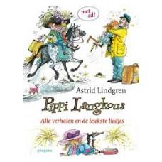 Lindgren, Astrid en Carl Hollander: Pippi Langkous alle verhalen( en de leukste liedjes, zonder cd)