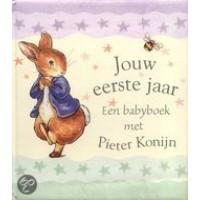Potter, Beatrix: Jouw eerste jaar, een babyboek met Pieter Konijn
