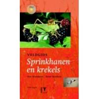 Kleukers, Roy en Rene Krekels: KNNV veldgids spinkhanen en krekels met cd ( gids nr. 21)